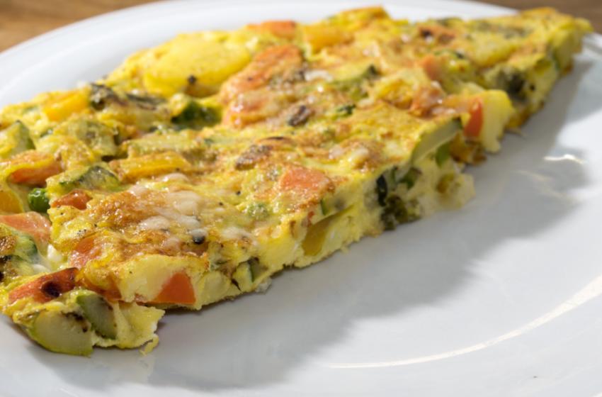 Frittata vegana senza uova