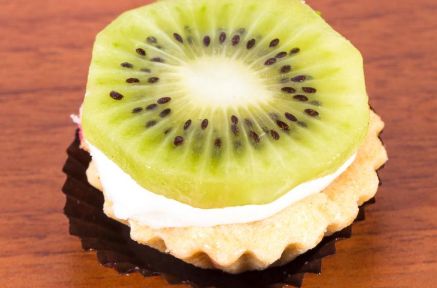Cheese-cake ai kiwi