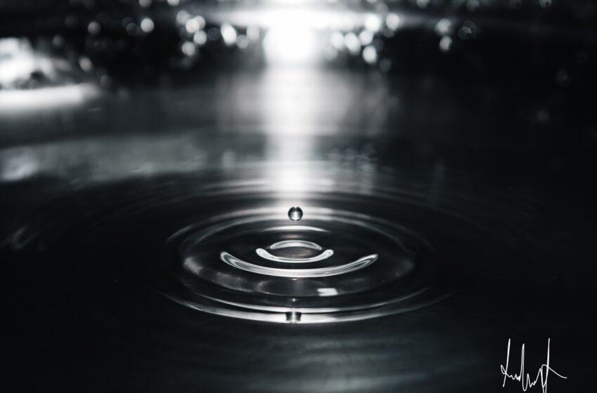 Gocciolina d'acqua