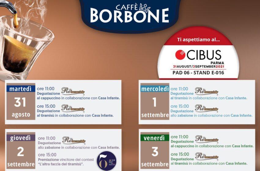 """Caffè Borbone, tra i protagonisti del Salone """"Cibus"""""""