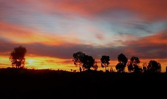 Un ricordo nel tramonto
